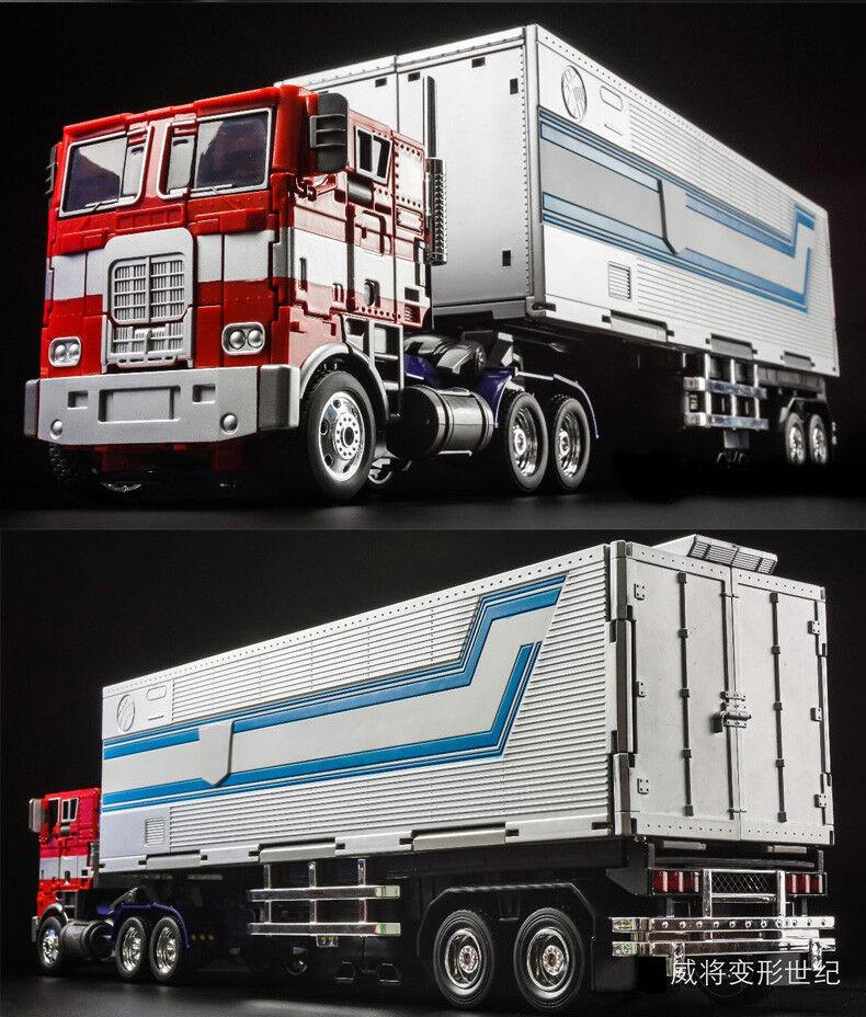 Ransformers Optimus Prime MPP10 WEIJIANG Trailer Commander Action Figure