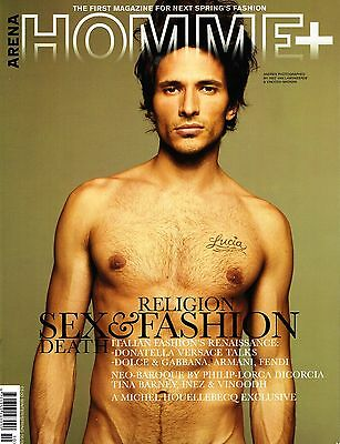 ARENA HOMME PLUS #24 Andres Velencoso Segura CAMERON RUSSELL Toms Birkavs EXCLNT
