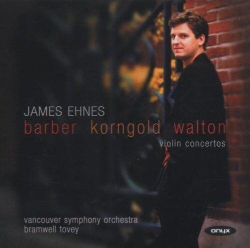 James Ehnes, Vancouver Symphony Orchestra & - Violin Concertos [New CD] Germany