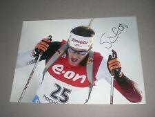 Simon Eder  Biathlon signiert signed autograph Autogramm auf 20x28 Foto