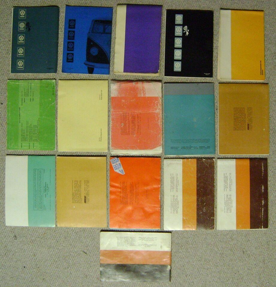Instruktionsbøger