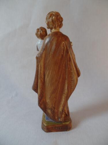 43 Saint Joseph Sainte Josef 12 cm Plastique Statue Figurine DU