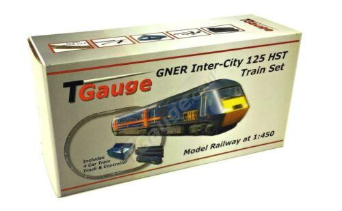 T Gauge GNER Inter-City 125 HST Model Railway Starter Set R-042//GNER