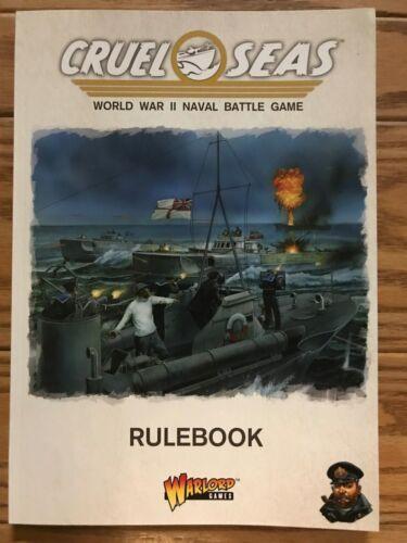 Cruel Seas Core Rulebook ADD/'L ITEMS SHIP FREE