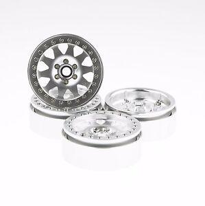 "ALIENTAC Four(4) 2.2"" Alloy Beadlock Wheel Rim Wide 1"" for RC Model #095"