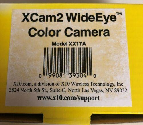 X10 XCam2 wideEye model xx17A wireless security camera