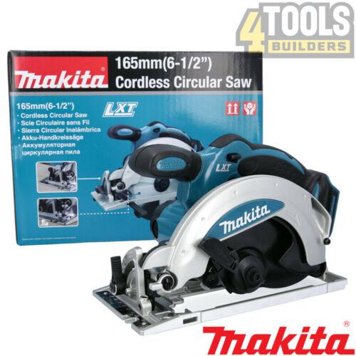 Makita DSS610Z 18 V LXT Li-Ion Scie circulaire 165 mm CORPS avec Gratuit Bande 8m//26ft