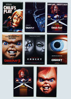 Childs Play - Movie Poster Fridge Magnets (part 1 2 3 Bride Seed Of Chucky, Doll