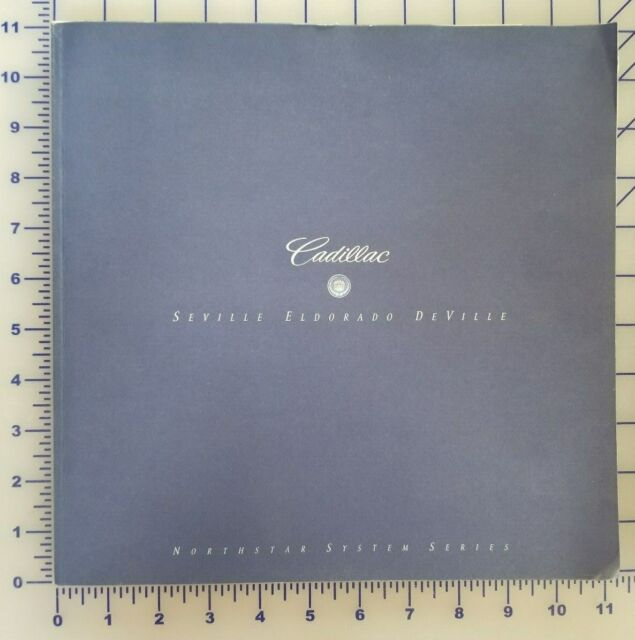 1997 Cadillac Brochure Original Full Line Seville Eldorado