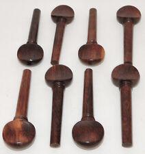8 Rosewood Violin Pegs Violin Parts Strings Instruments Pegs Viola Parts Supply