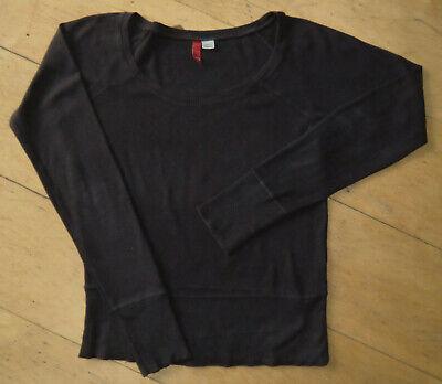 100% QualitäT * Top * H&m Pulli Sweat Shirt Braun Weiter Rundausschnitt Baumwolle M 40