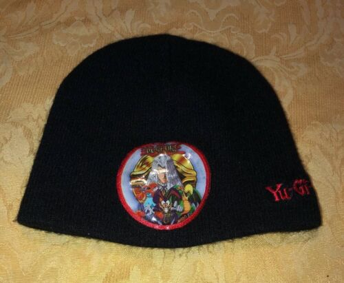 Yu-Gi-Oh Black Beanie Hat - Yu-Gi Oh Acrylic Knit