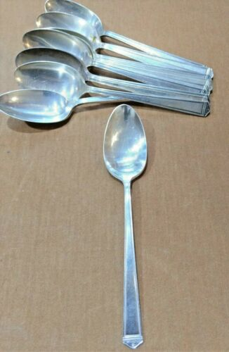 Rogers Bros 1847  Anniversary Pattern SILVER plated  Large TABLE SPOONS