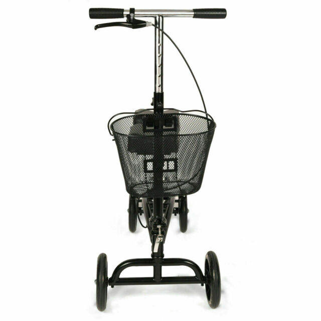 Equate Mobility Steerable Knee Walker Scooter, 350 LB Capaci