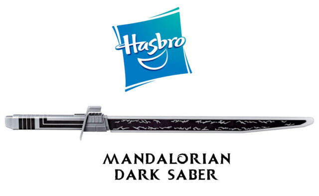 Star Wars Mandalorian Darksaber - OFFICAL PRODUCT with LIGHTS and SOUNDS!
