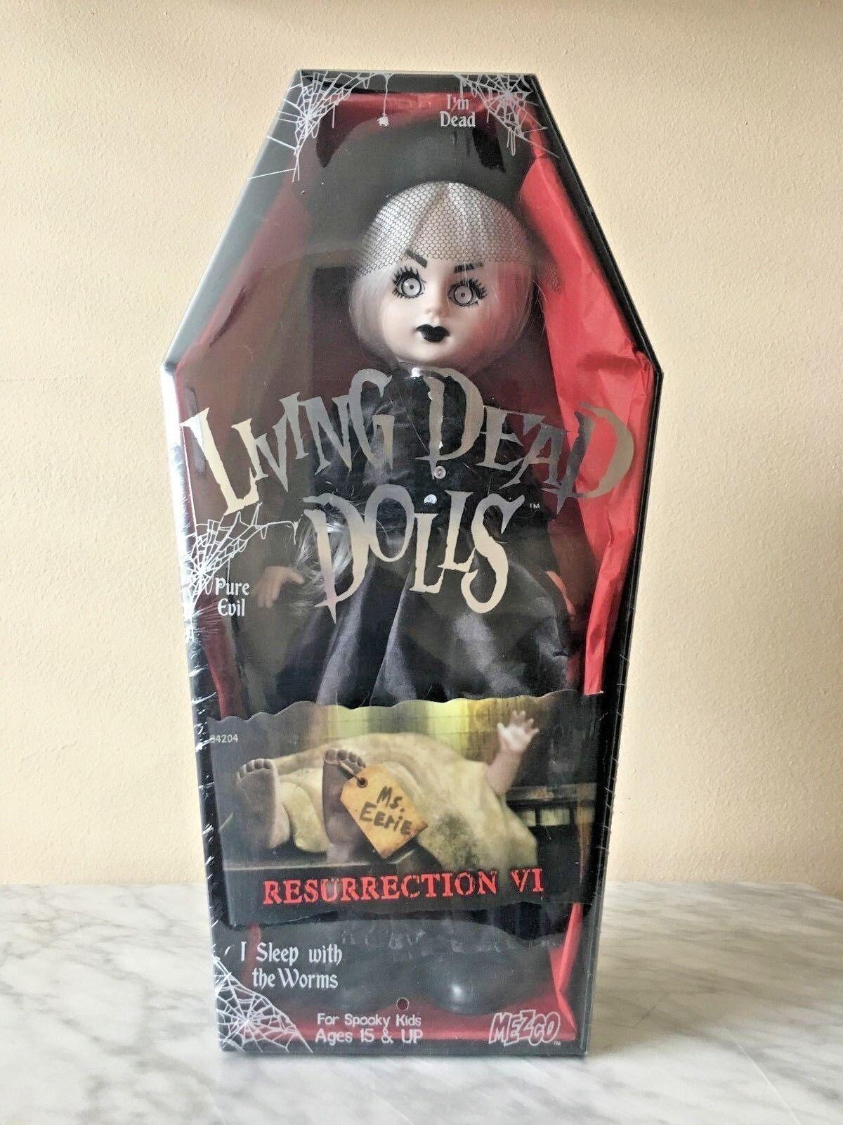 Living Dead Dolls resurrección VI MS. inquietante Mezco  Sellado en Fábrica   totalmente Nuevo
