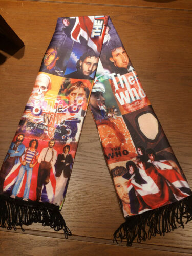 Rock The Who Roger Daltrey Tommy Muffler Cos Costume Shawl Quasten Schal Scarf