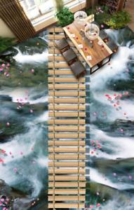 3D Petal Sea Bridge 423 Floor WallPaper Murals Wall Print Decal AJ WALLPAPER