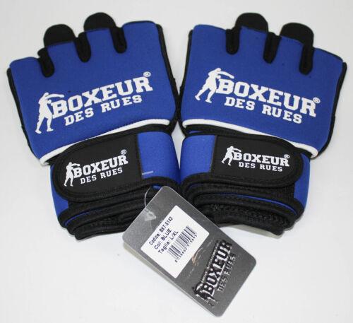 Tuta boxeur des rues bxt-5142 NEOPRENE Fit GUANTONI DA BOXE BLU L-XL
