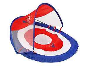 SwimWays-Baby-Spring-Float-Sun-Canopy-Blue-Baby-Swim-Float-With-Canopy