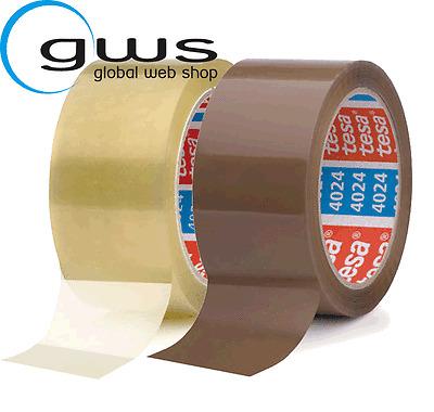 6 Rollen TESA Paketklebeband 64014 transparent 66 m, 50 mm