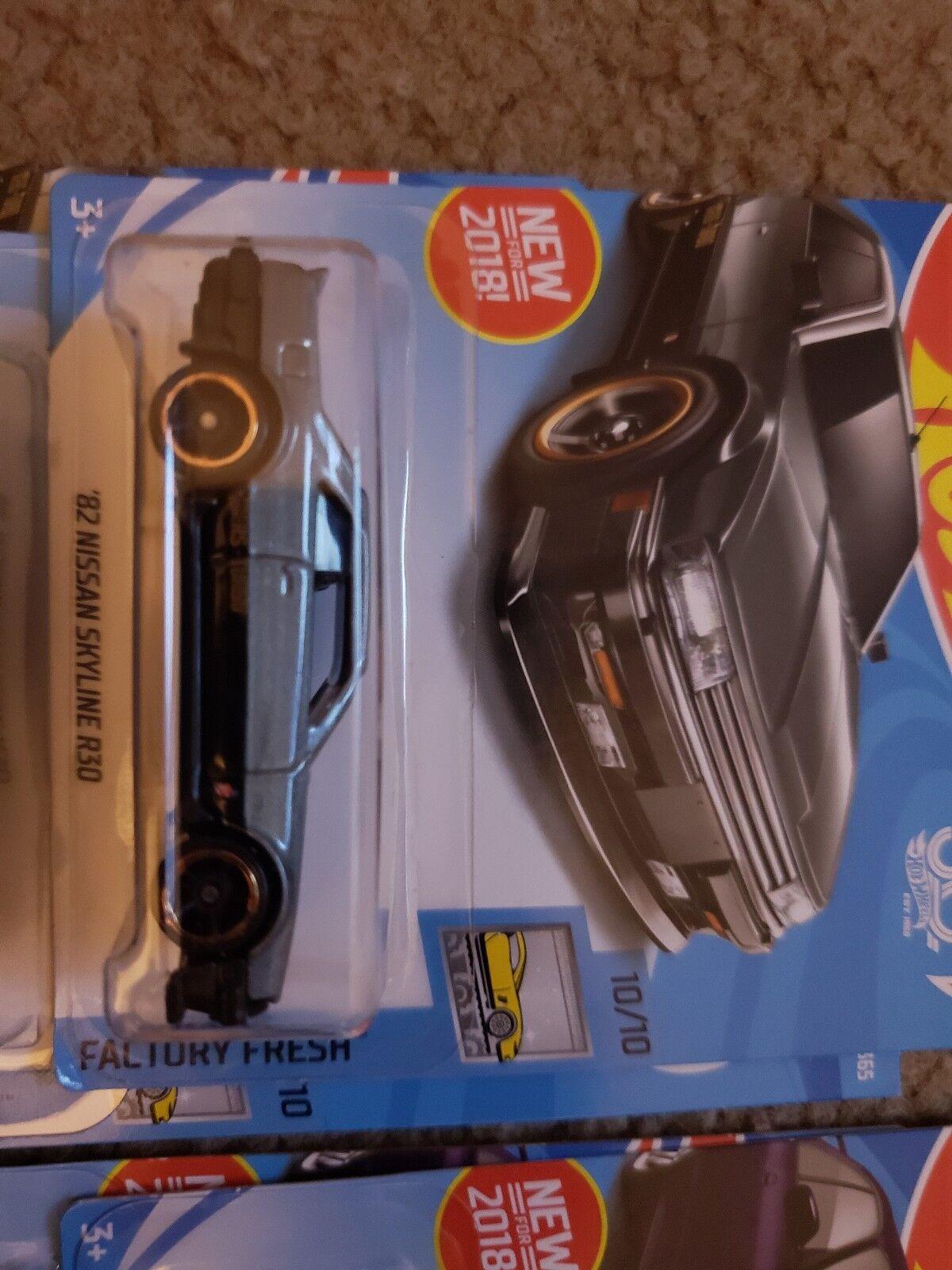 Hot Wheels Nissan Skyline R33 R33 R33 R30 lot of 12 b55a13