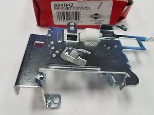 Genuine Briggs /& Stratton 597209 Control Bracket Was 494887 495611 691644 694042