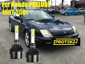 LED-For-PRELUDE-1997-2001-Headlight-Kit-H1-6000K-White-CREE-Bulbs-Low-Beam