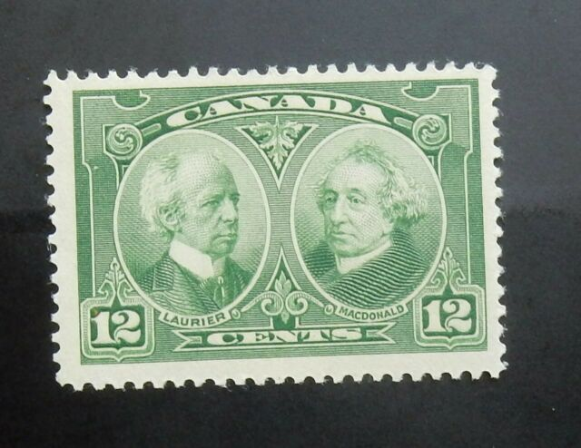 Canada #147 Mint Never Hinged  Fine Laurier and Macdonald  1927 12 cents