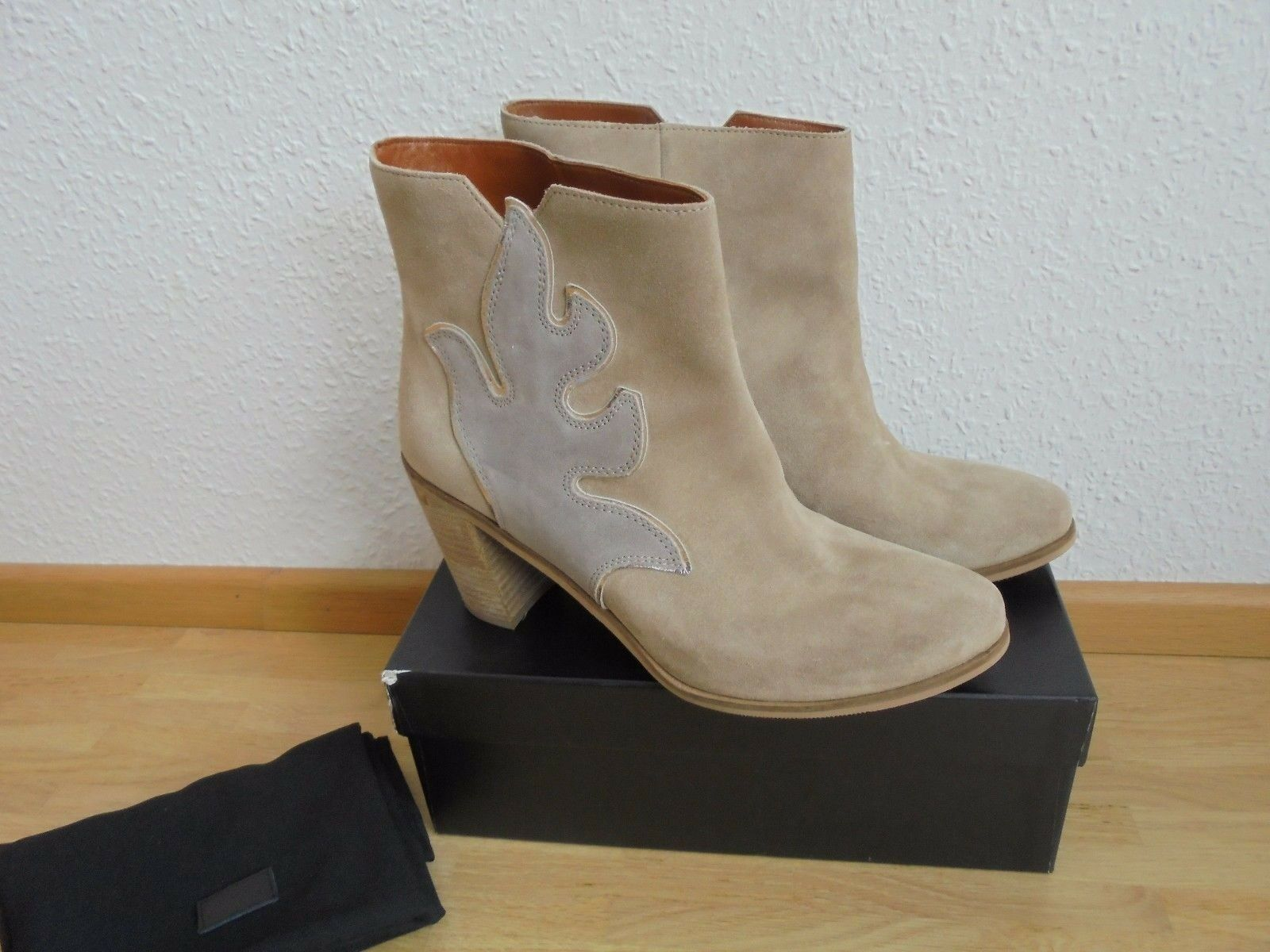 * Hugo Boss de gamuza botines NP  W nuevo botines botas