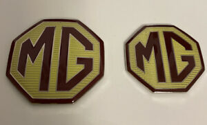 MG-ZTT-Badge-Front-Grille-and-rear-boot-badges-59mm-amp-44mm-With-lug-holes