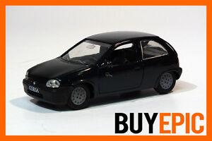 Gama-Opel-Corsa-B-3-Tuerer-1-43-Grand-Slam-Edition-gruen-Modellauto-NEU-amp-OVP