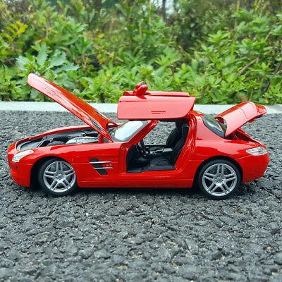 Mercedes-Benz SLS 1:24 Model Cars Gull wing doors ...
