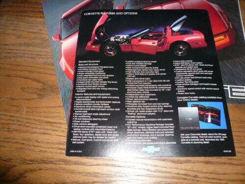 1985 Chevrolet Corvette Sales Brochure Buy 1 Receive 3 Vintage
