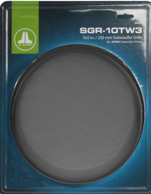"JL AUDIO® SGR-10TW3 10/"" TW3 CAR SUBWOOFER SUB STEEL MESH GRILL GRILLE SGR10TW3"