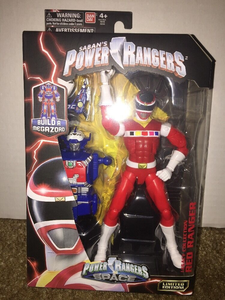 Brand New- Power Rangers In Space Red Ranger Legacy Legacy Legacy Action Figure f1d07a