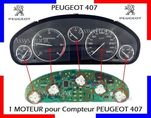 MICRO-MOTEUR NEUF COMPTEUR PEUGEOT 407 livraison rapide en 48H!