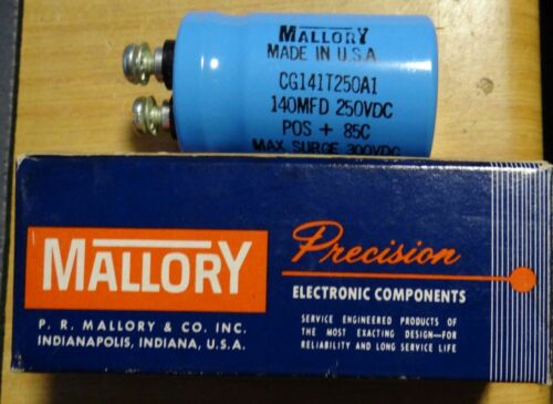 MALLORY CAPACITOR CG141T250A1 250VDC