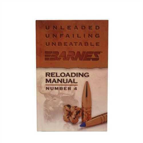 Barnes Bullets 30745 4th Edition Reloading Manual for sale ...