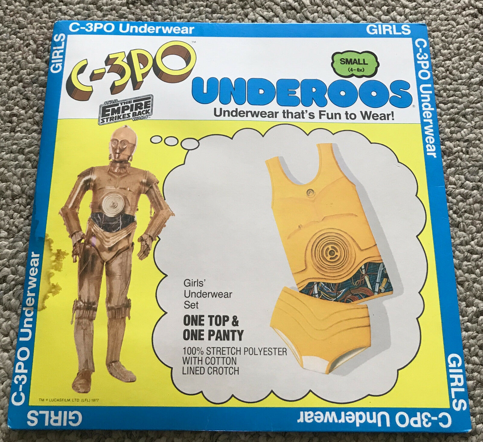 5 Awesome Things on Ebay- C3PO Underoos