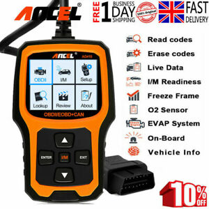 Scanner Engine Light Clear Wireless OBD2 Code Reader for Vauxhall Movano