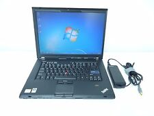 IBM Lenovo ThinkPad T500 2.27GHz 4GB 160GB HDD WINDOWS 7 MICROSOFT OFFICE 2013
