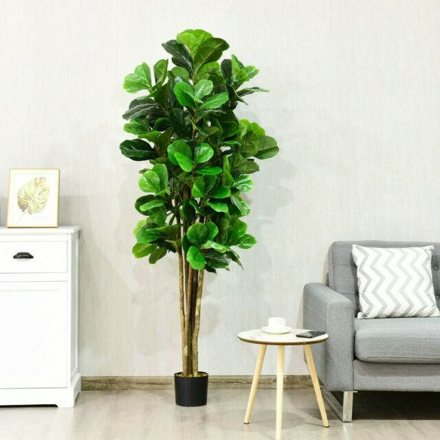 Large Topiary Artificial Potted Indoor Outdoor Home House Plant Tree Office