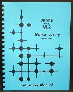 R-LDrake-Drake-ML2-ML-2-2-Meter-Marker-Deluxe-Transceiver-Instruction-Manual