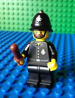 LEGO LOT OF 8 CONSTABLE MINIFIGURES POLICE LAW ARMY WAR FIGURES