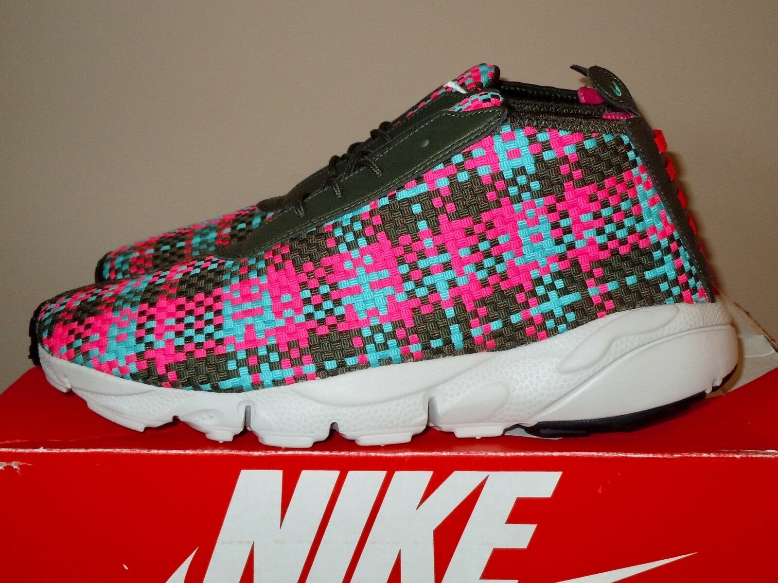 NIB VINTAGE 2014 MENS NIKE FOOTSCAPE DESERT BASKETBALL SHOE 652822-400 10.5 Price reduction The latest discount shoes for men and women