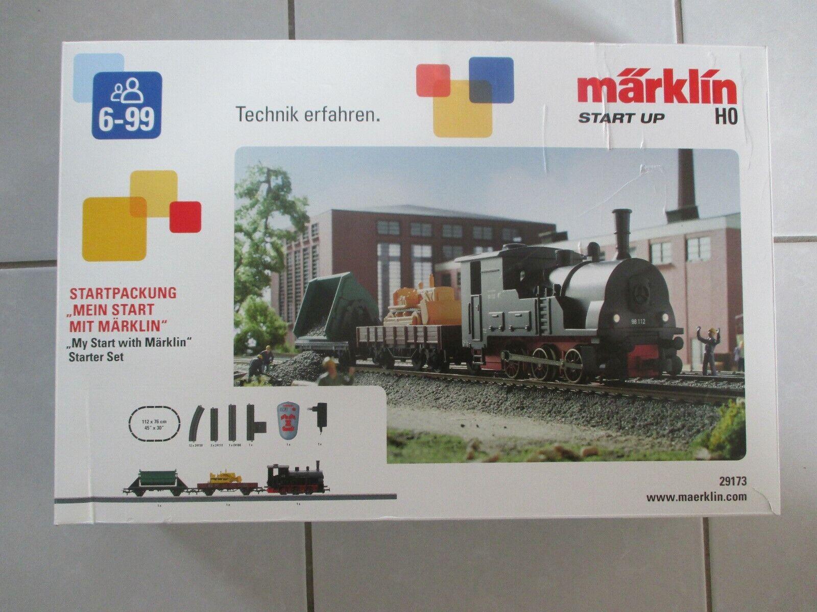 Märklin 29173 Sternt up - SterntVerpackungung  Mein Sternt mit Märklin  in Spur H0