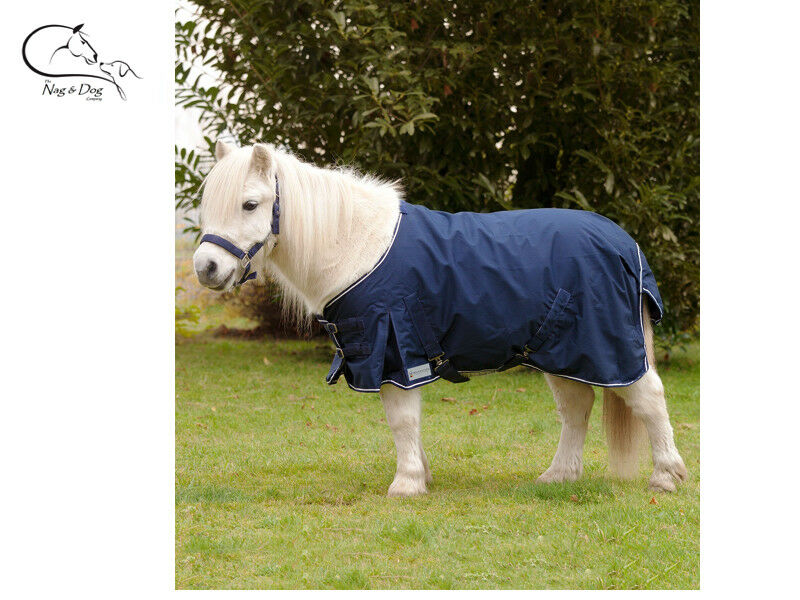Cavallo Shetland leggeri nessun riempimento affluenza alle urne Tappeto Pioggia Foglio Standard Collo