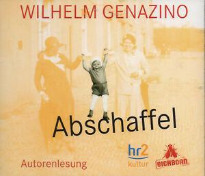 Abschaffel-Wilhelm-Genazino-5-CDs-Lesung-NEU-OVP