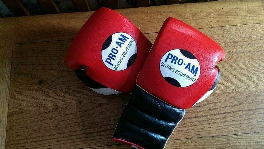 SALE PRICE. PRO-AM boxing, 16oz professional sparring gloves 16oz boxing, like grant, Reyes. a3eec3